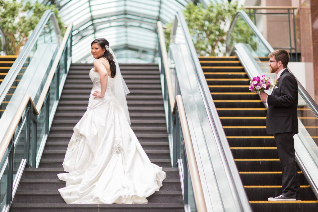 Edmonton Indoor Wedding Photos