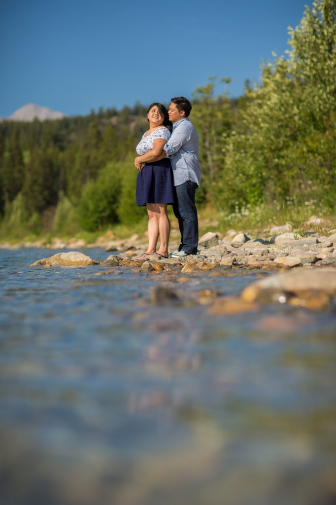 Jasper Lake Engagement Pictures With Cheryl & Lester