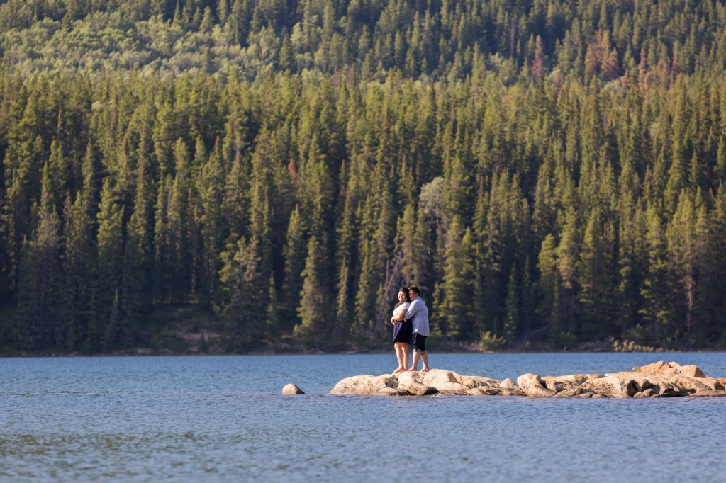 Pyramid Lake Jasper Engagement Pictures