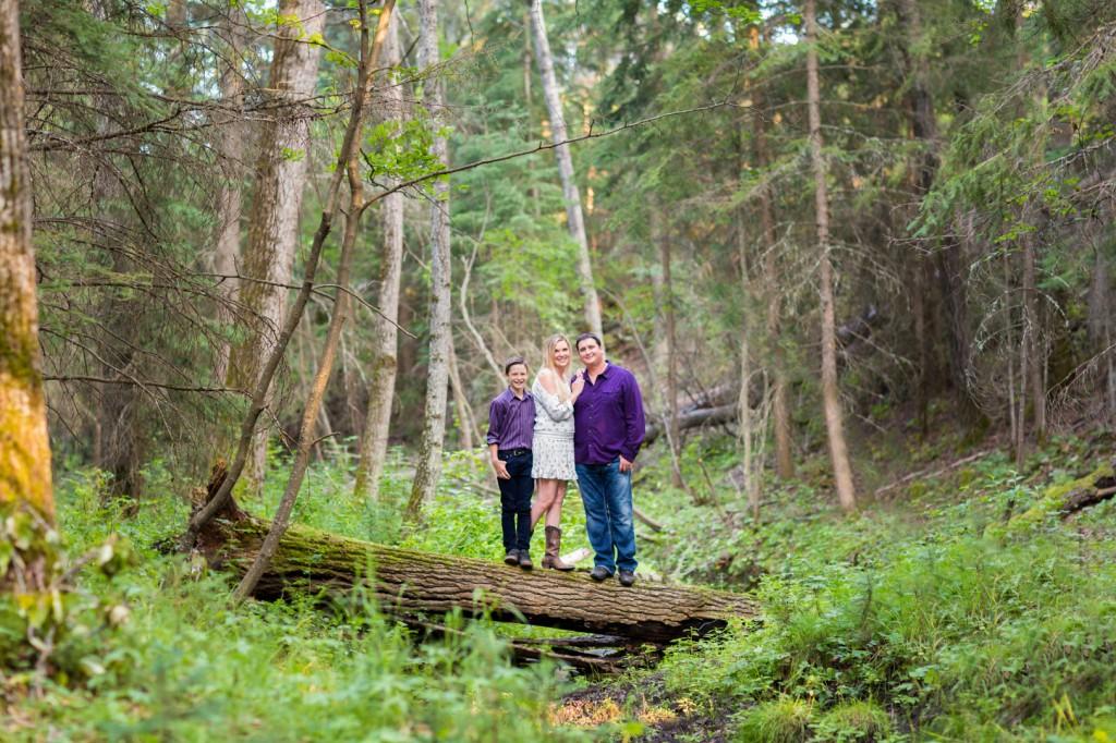 Forest Family Portrait