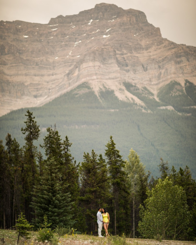 Jasper Mountain Engagement Photos