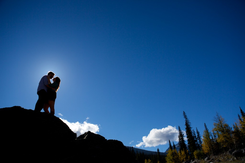 Jasper Mountain Engagement Pictures