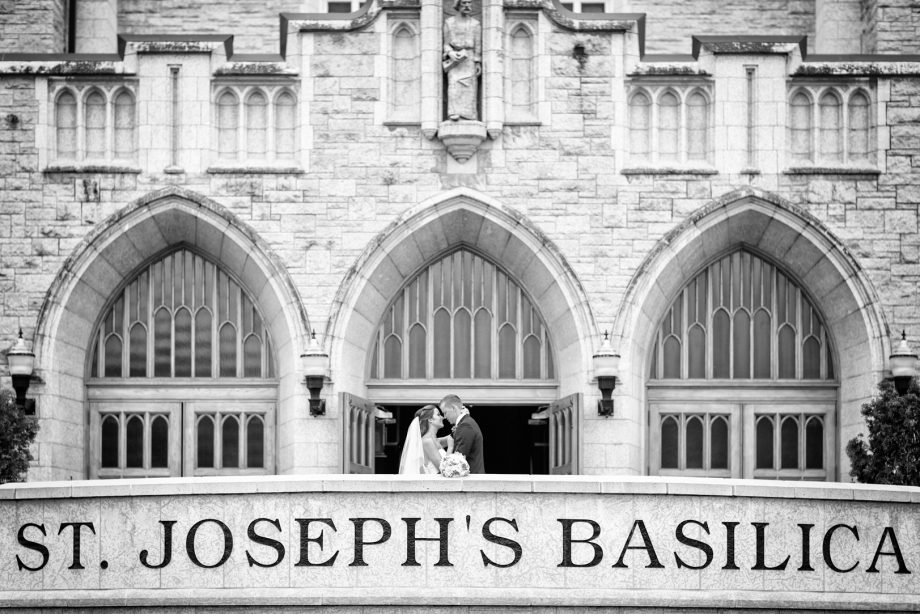 St Joseph Basilica Wedding Edmonton – Kristin & Wyatt