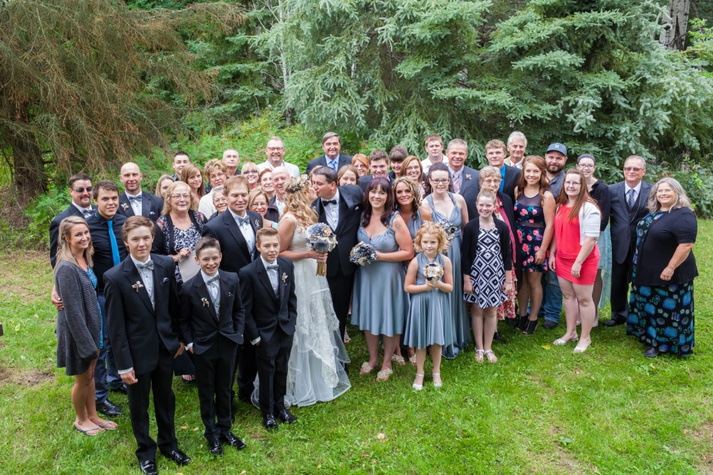 Group Photo at Wedding