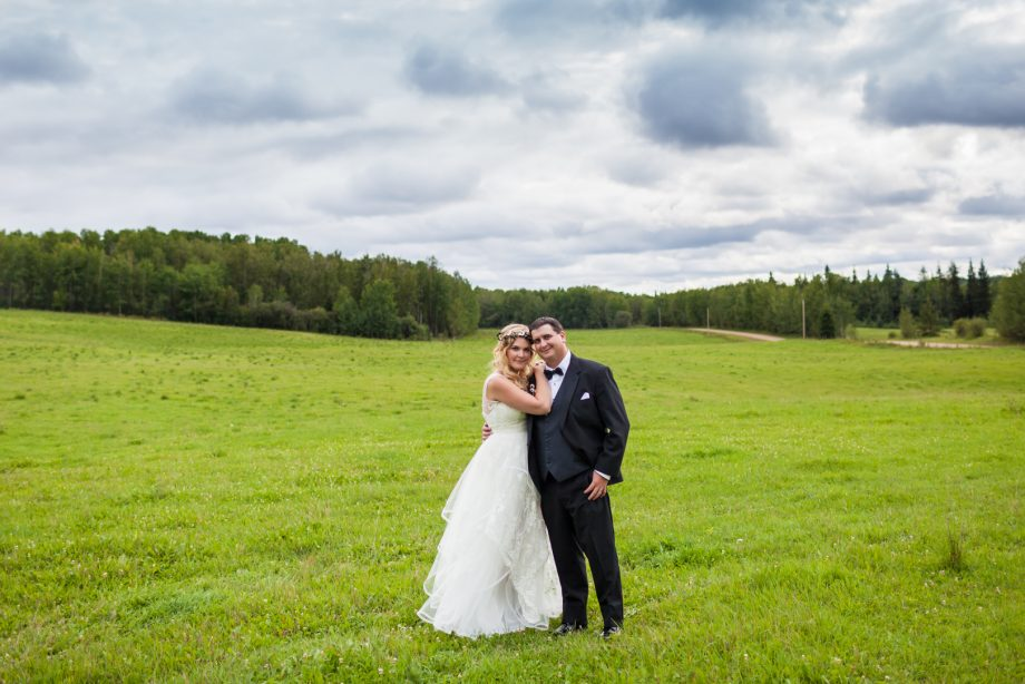 Country Wedding In Athabasca – Kris & Kelsey