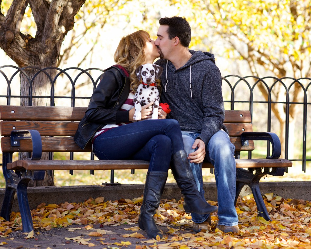 Edmonton Autumn Engagement Session Photos