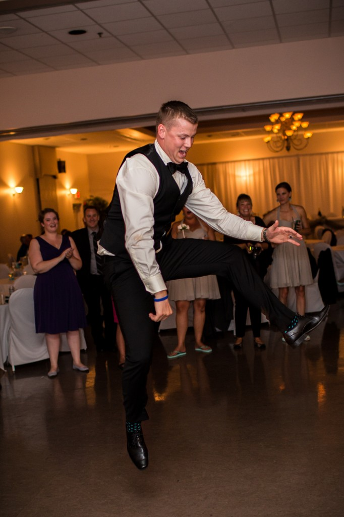 Groom Dancing Photo