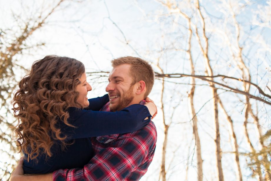 Winter Engagement Photos Edmonton – Paul & Sarah