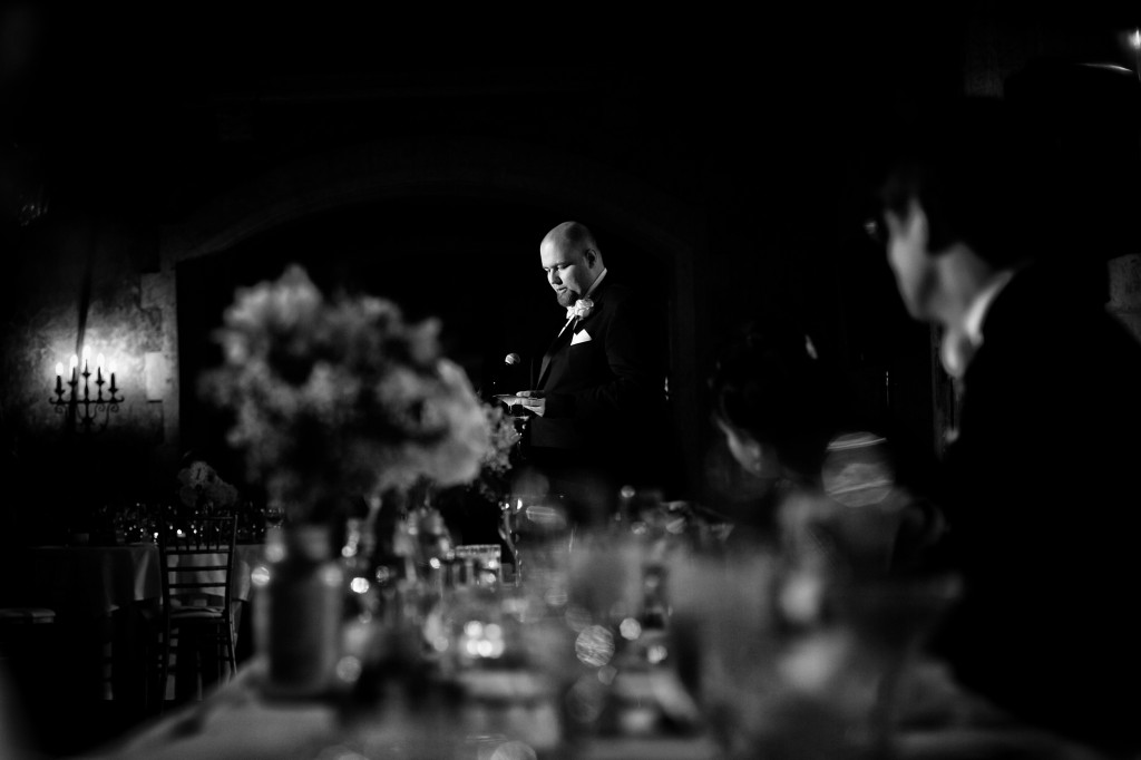 Photo of Best Man Giving Speech