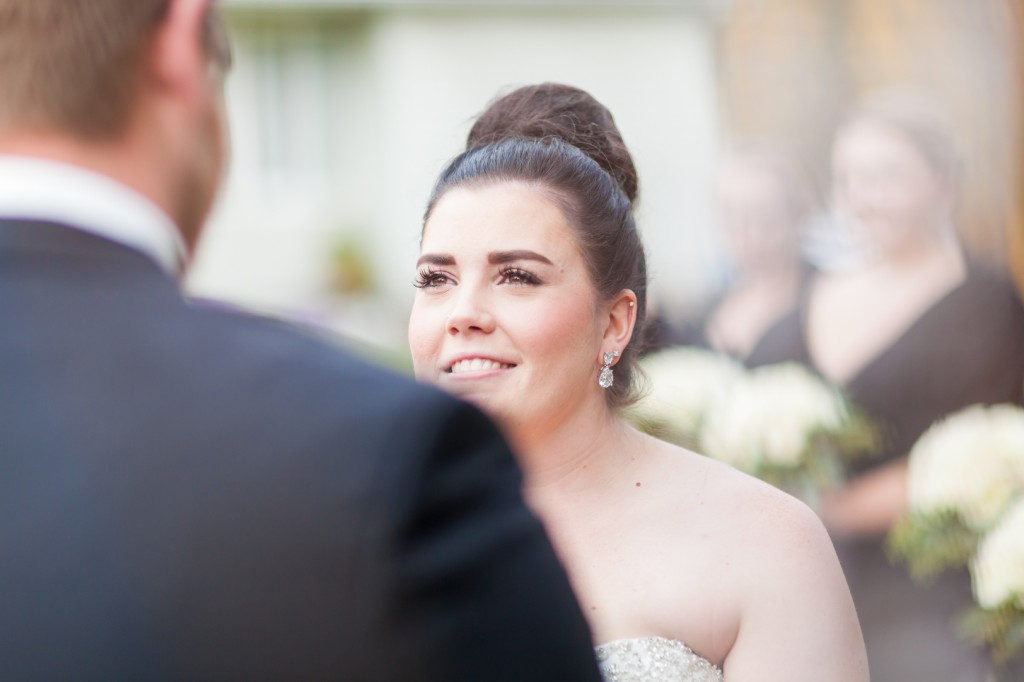 Outdoor Autumn Wedding - Bride