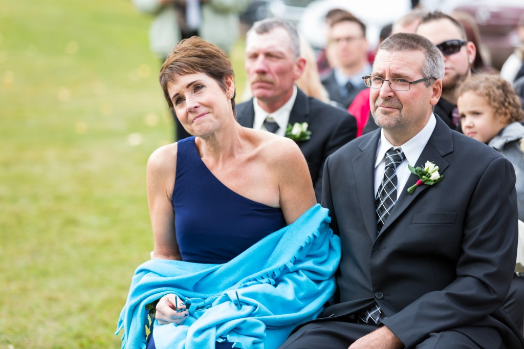 Parents of the Bride During Ceremony