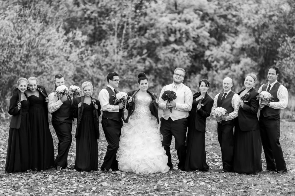Fun Wedding Party Portrait Ideas