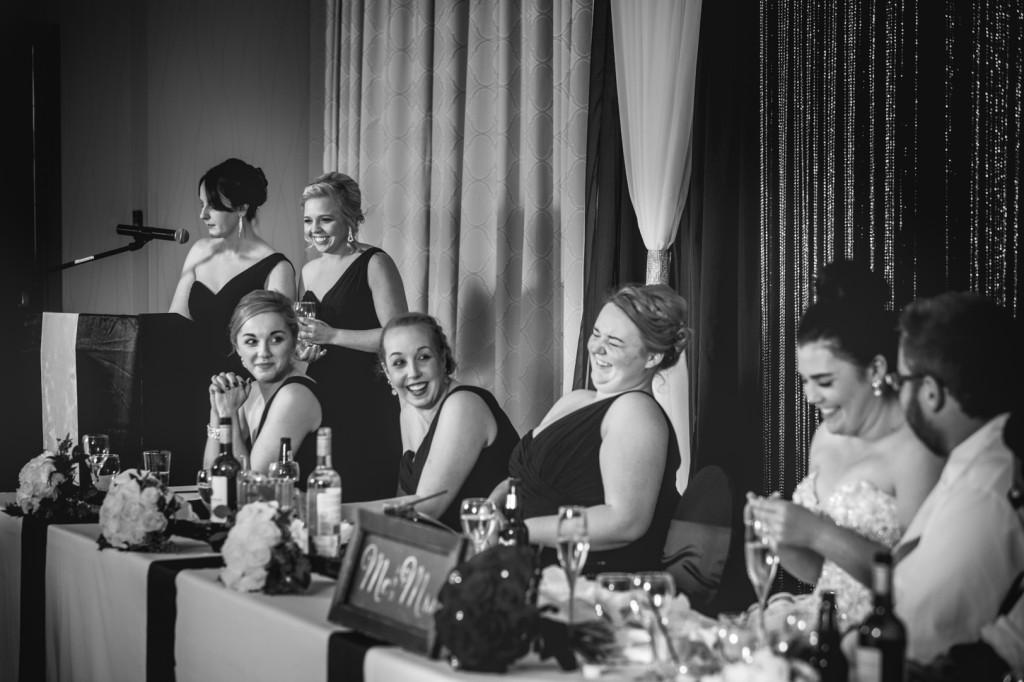 Photos of Wedding Speeches