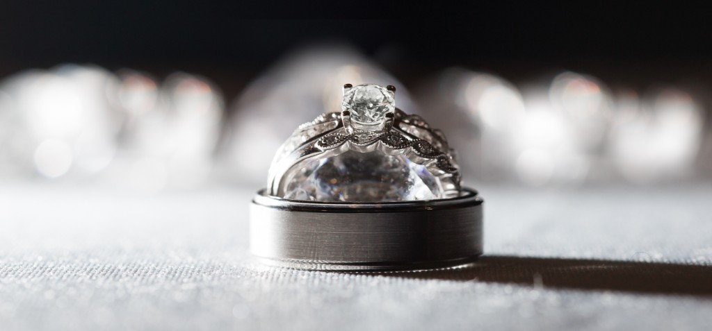 Detail Photo of Wedding Rings