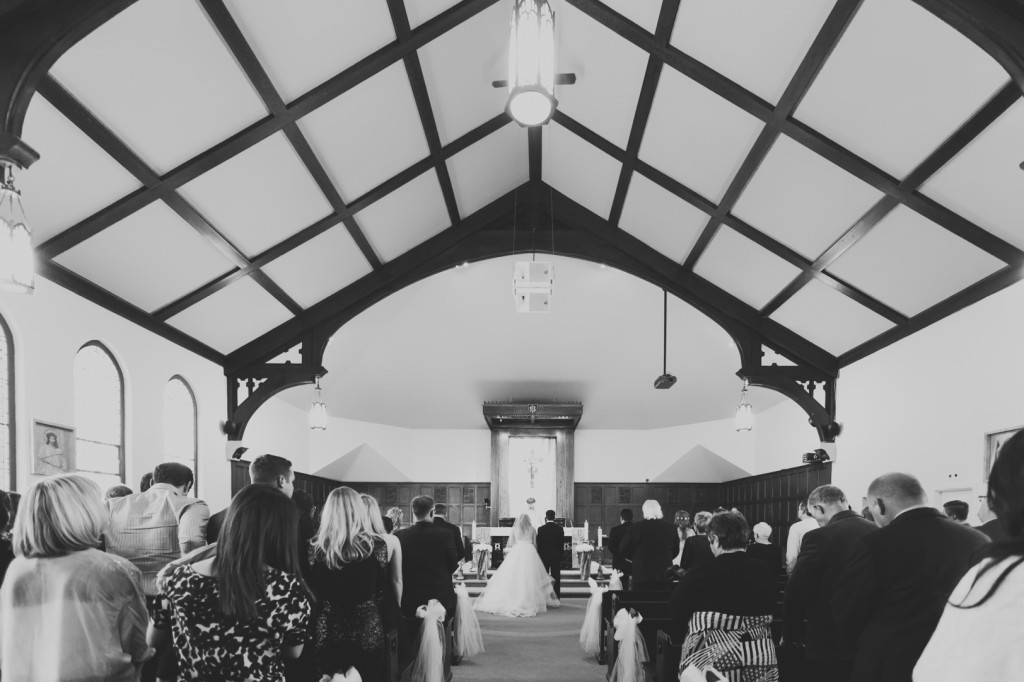 Wedding at St Josephs Church