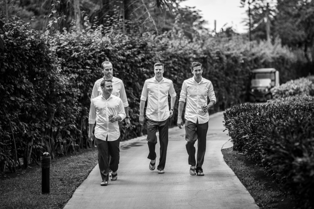 Creative Groomsmen Photo