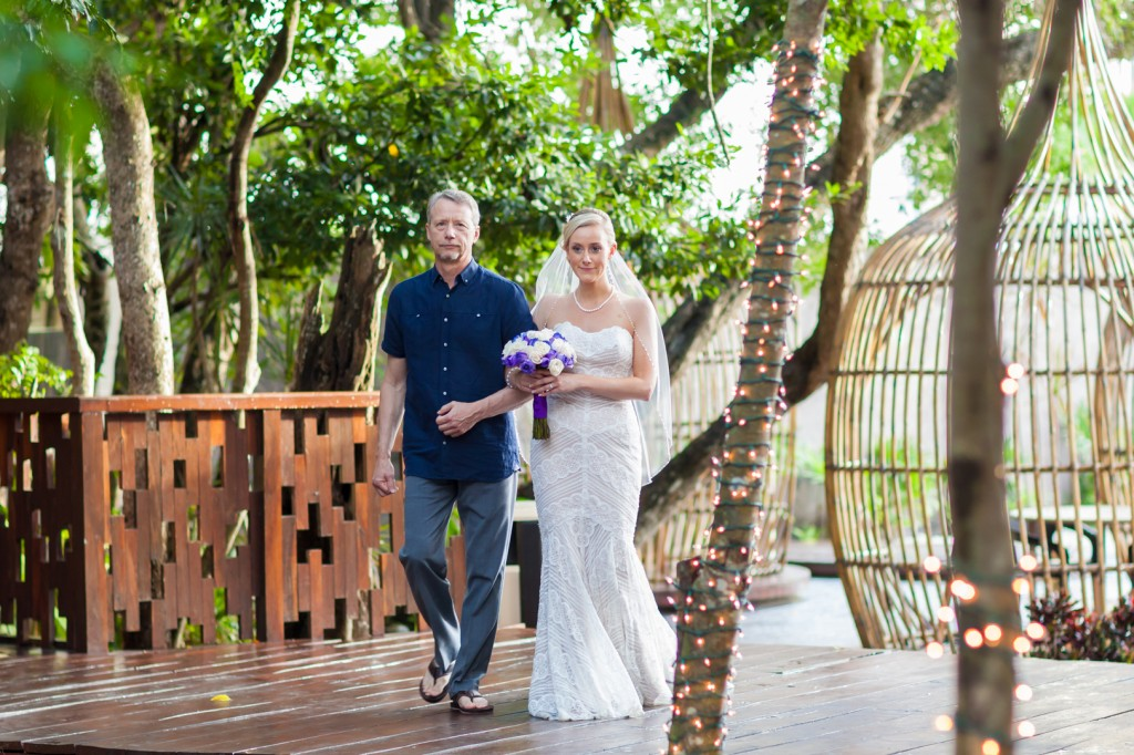 Destination Wedding Ceremony Azul Fives