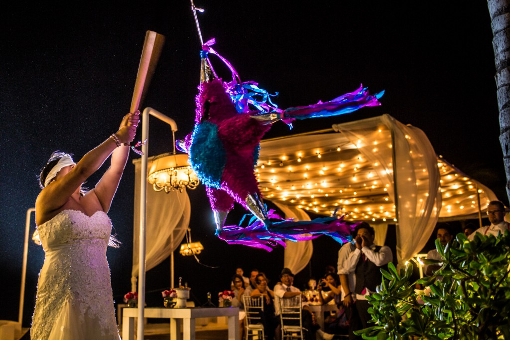 dreams cancun destination wedding party