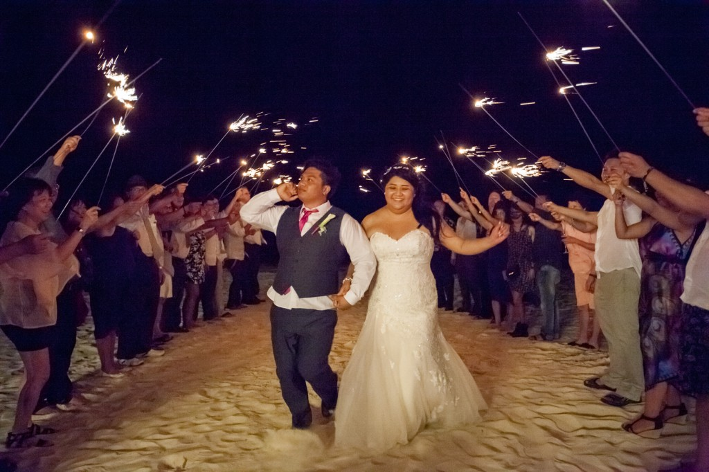 dreams cancun destination wedding reception