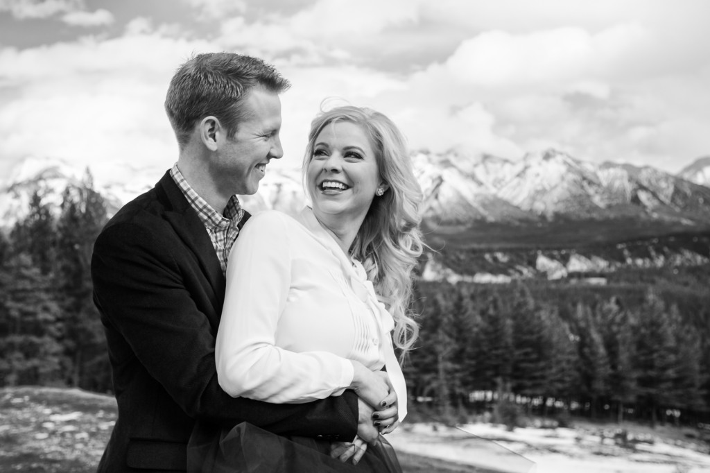 Tunnel Mountain Engagement