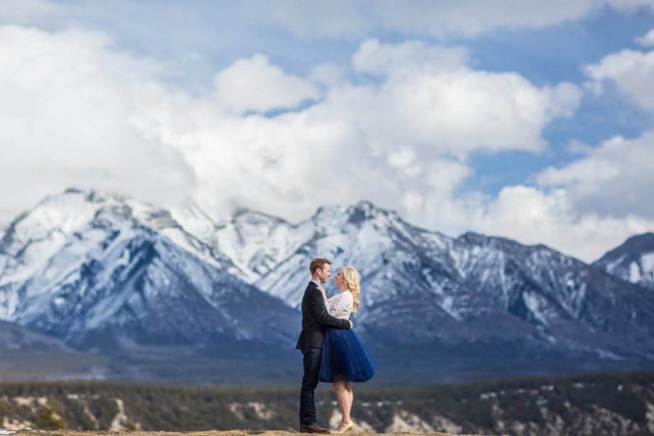 Banff Engagement Photos – Cathy & Fraser