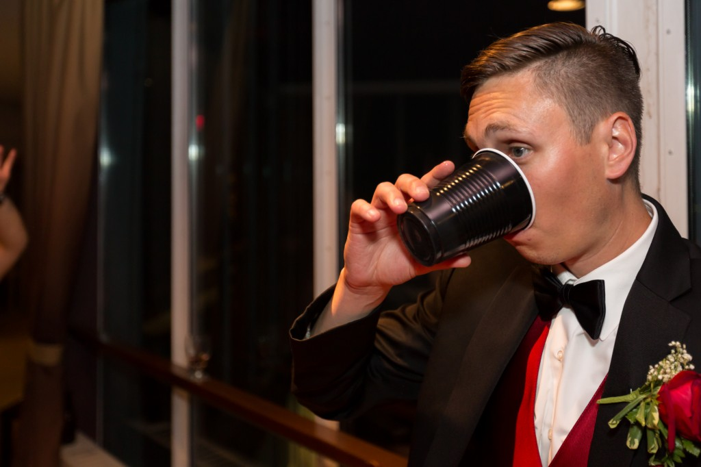 Photo of Wedding Beer Pong