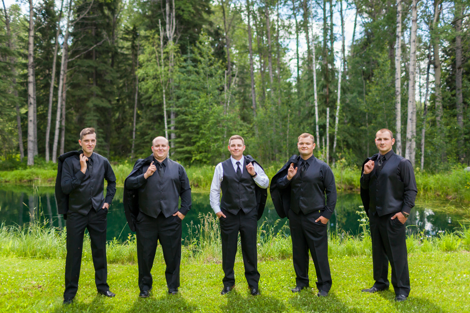 Photo of Groom with Groomsmen