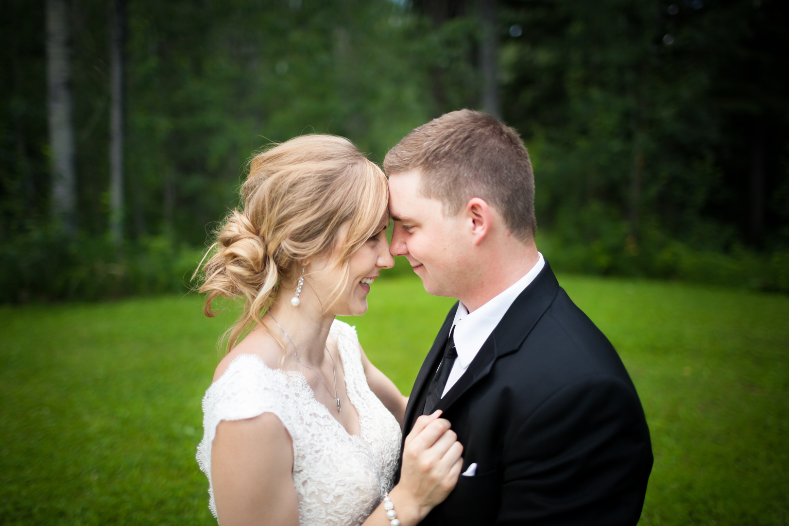 Outdoor Country Wedding Photos