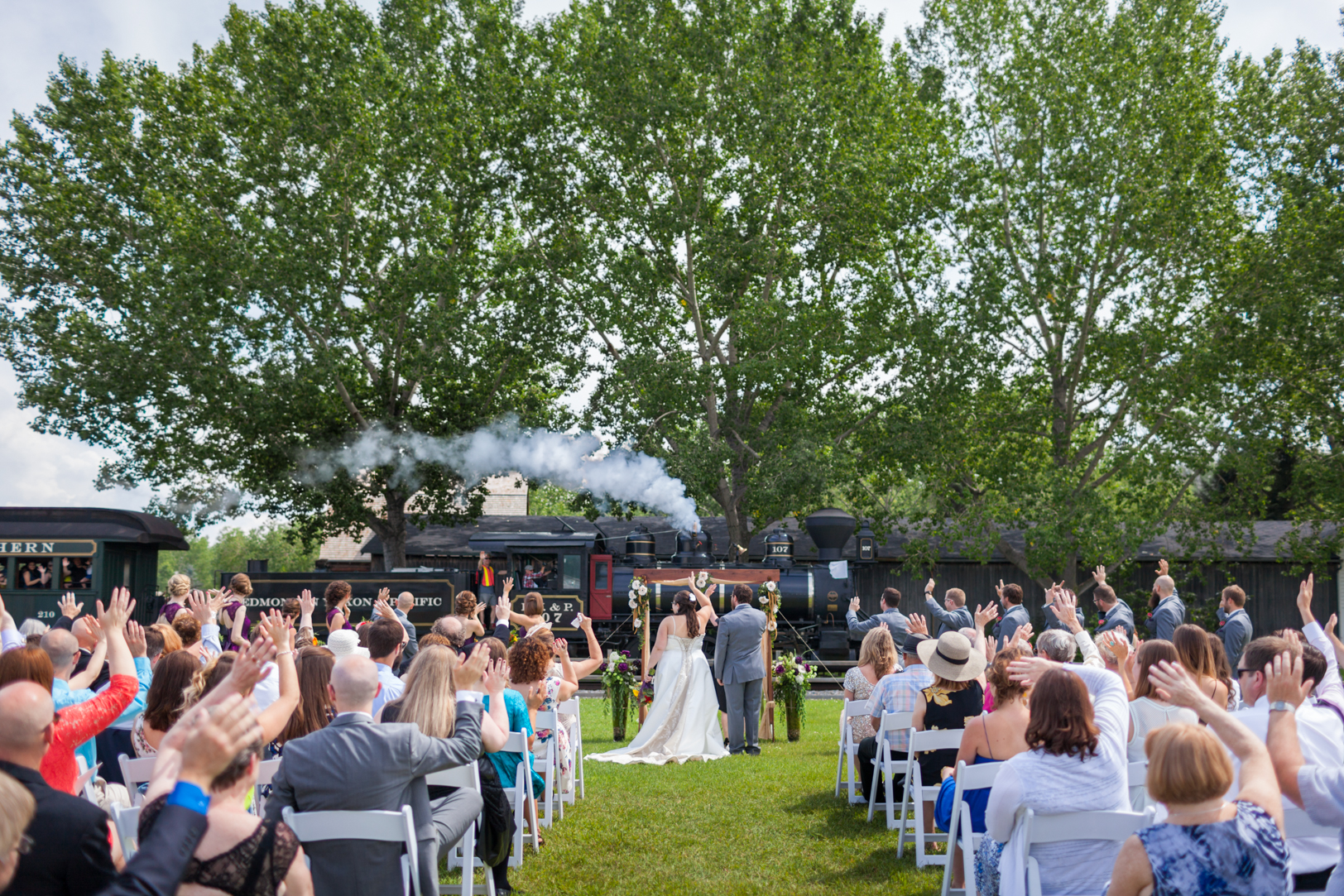 Outdoor Wedding Edmonton