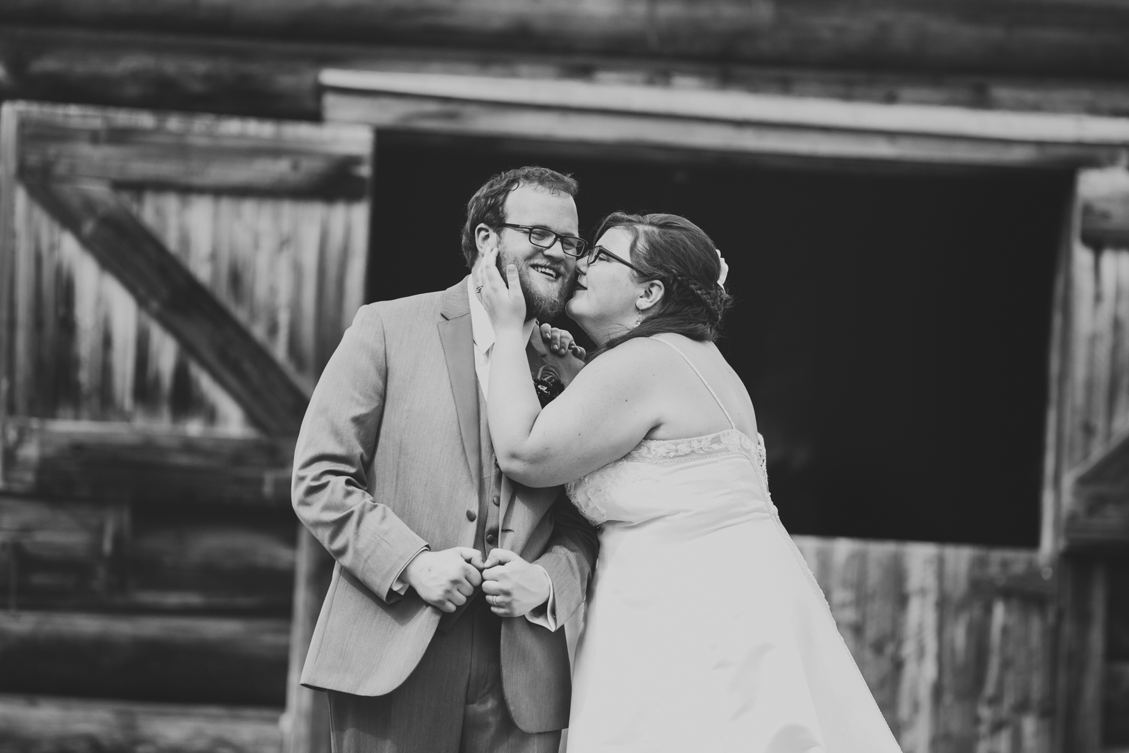 Wedding Portraits at Barn