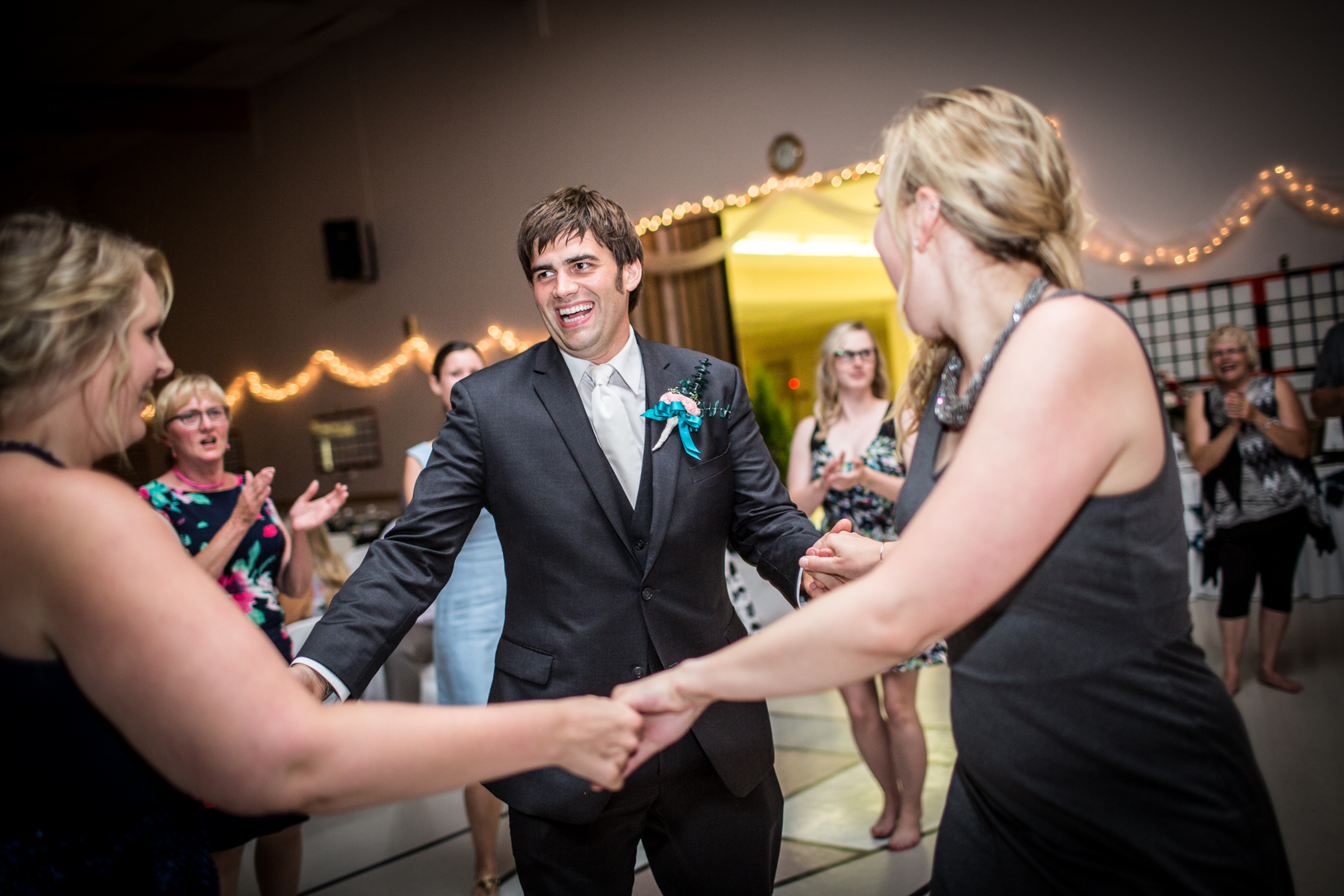 Photo of Groom Dancing
