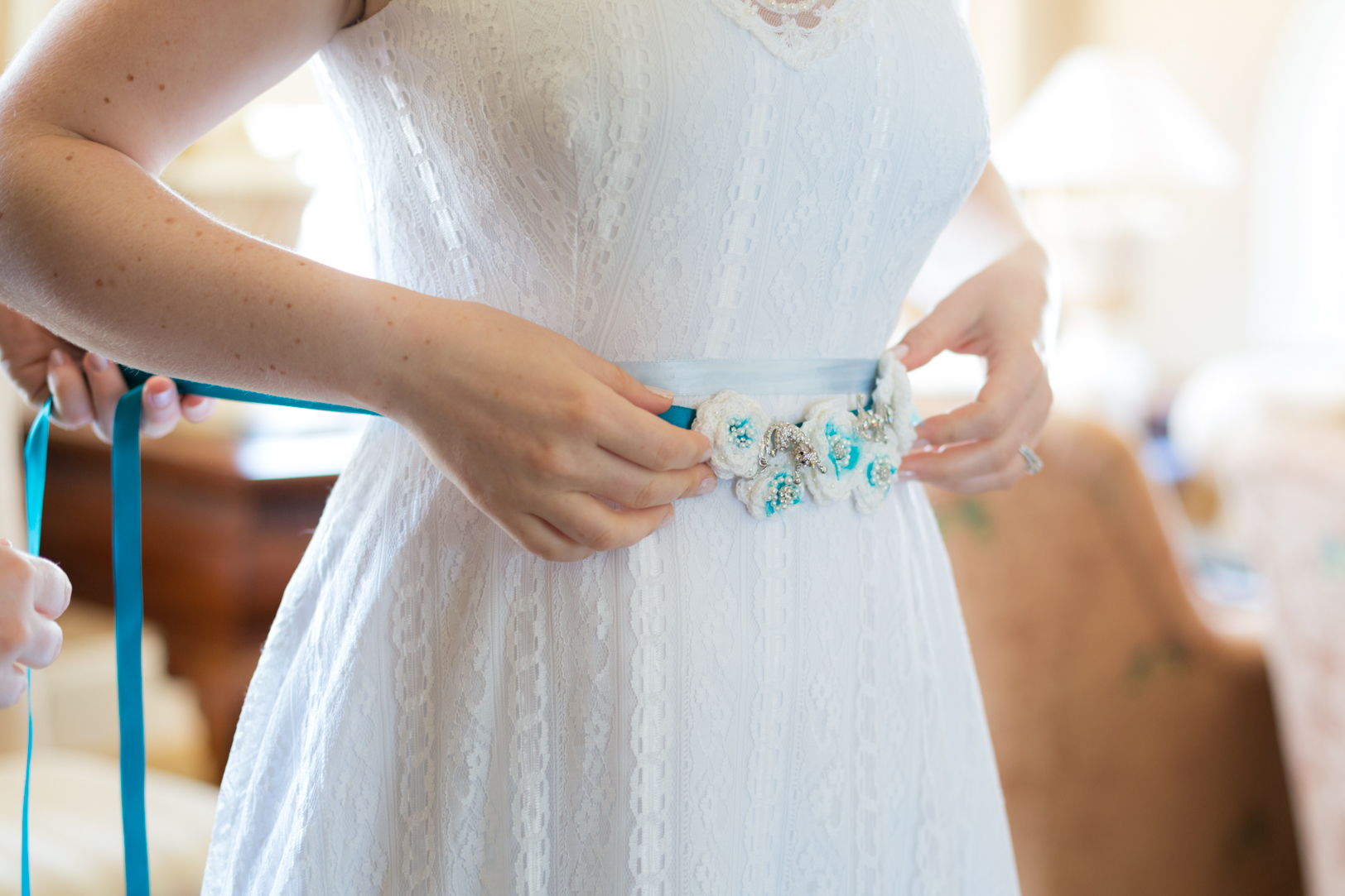 Crochet Wedding Dress Belt