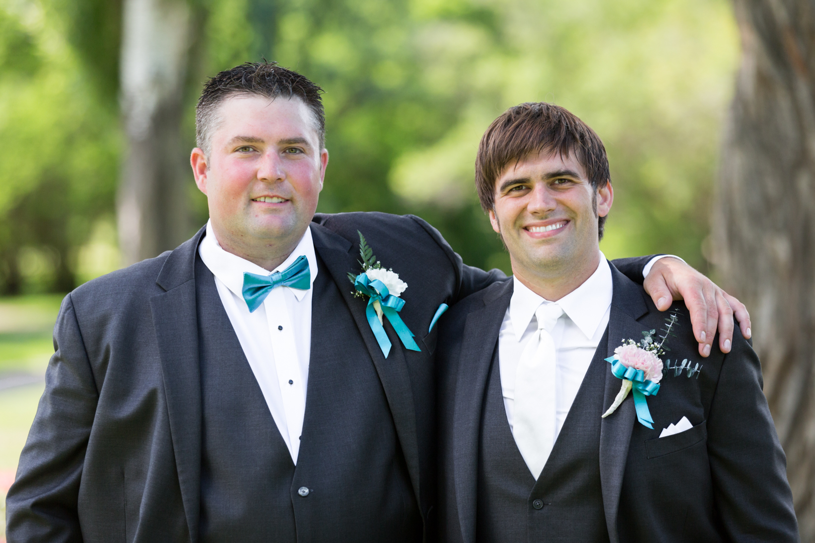 Photo of Groom and Best Man