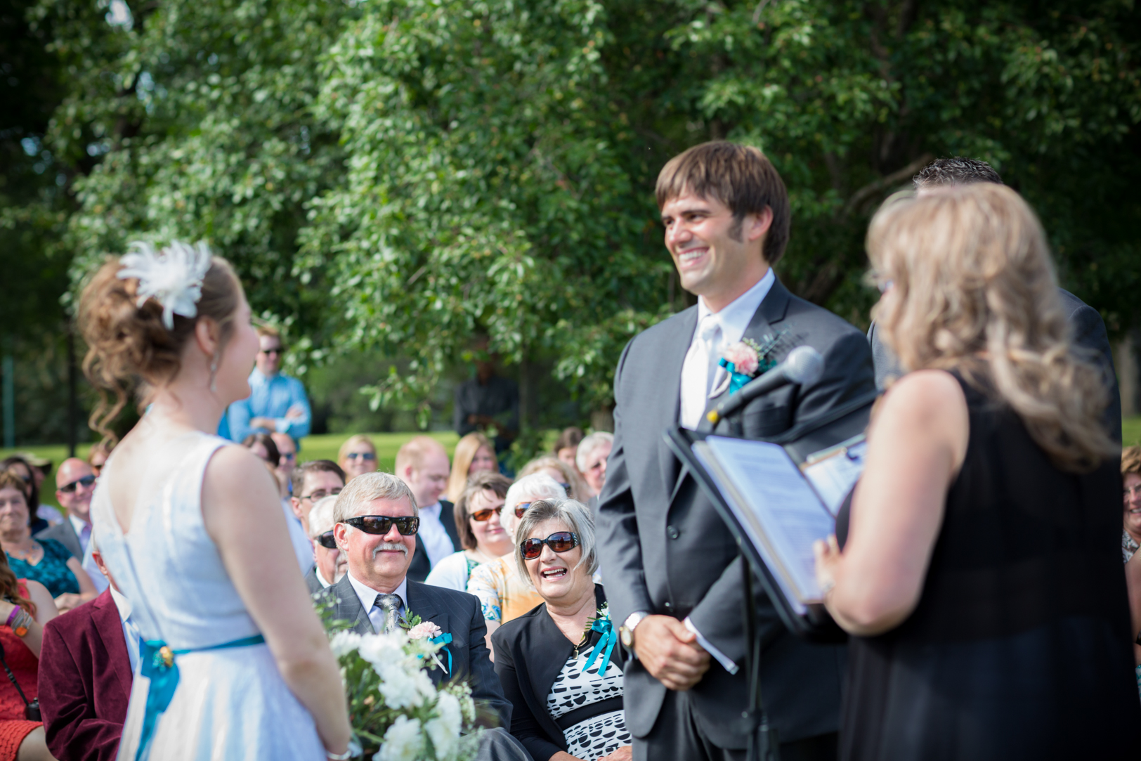 Outdoor Wedding Ceremony Moose Jaw