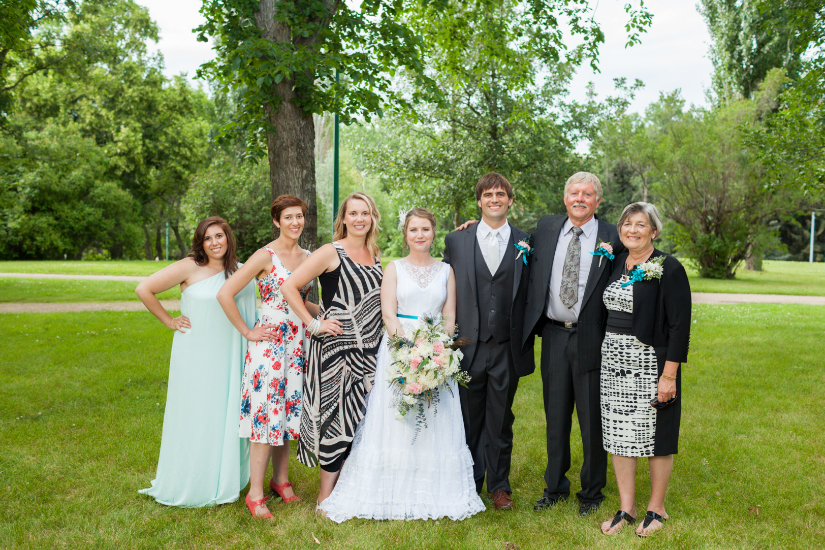 Family Photos for Wedding