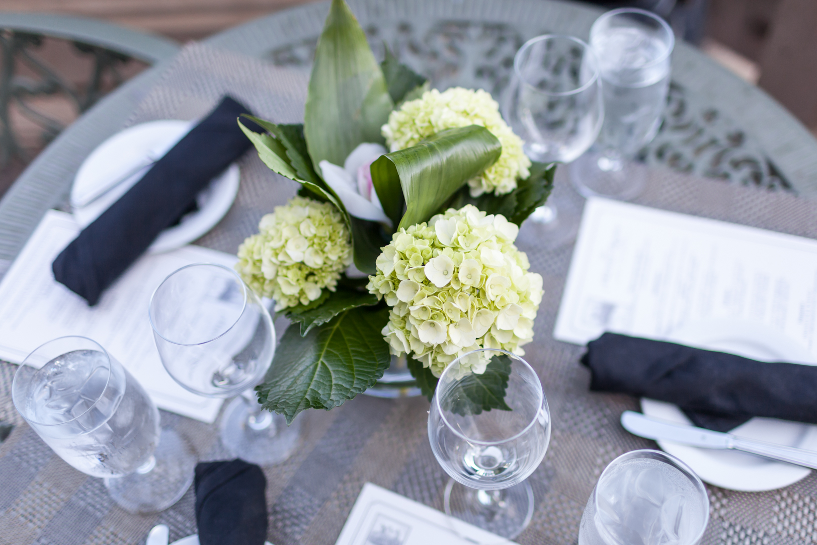 Black and Ivory Wedding Colors