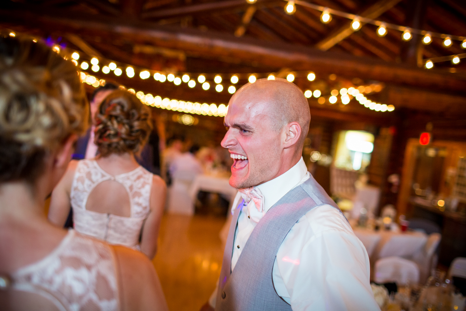 Photo of Groomsmen Dancing