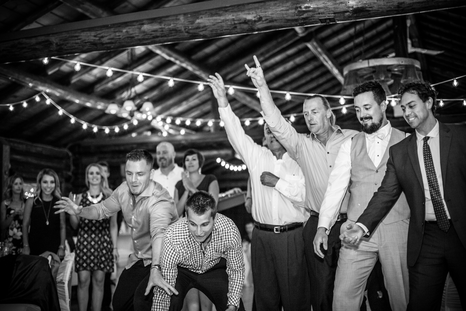 Photo of Guys Catching Garter