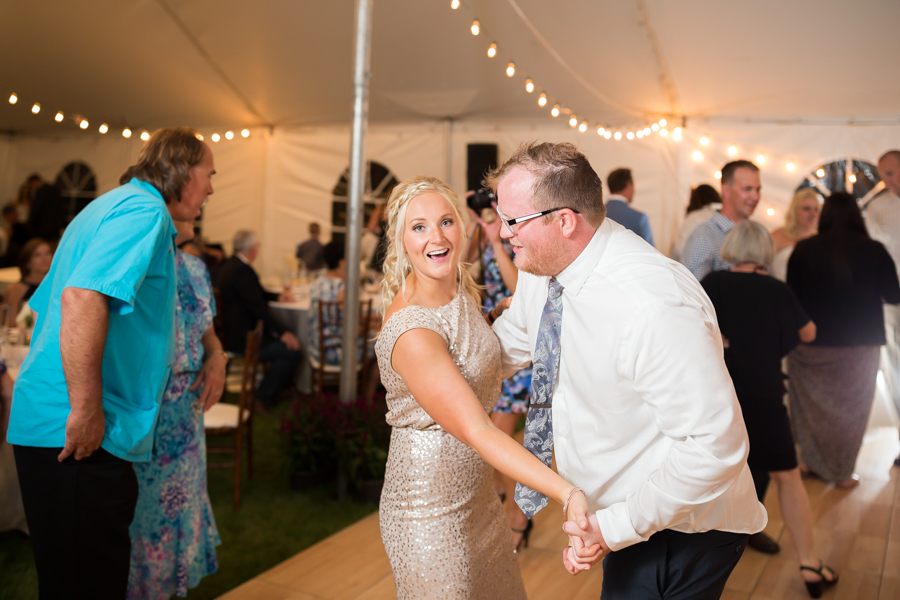 Tent wedding reception pictures.
