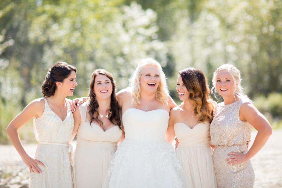 Bridesmaids picture.
