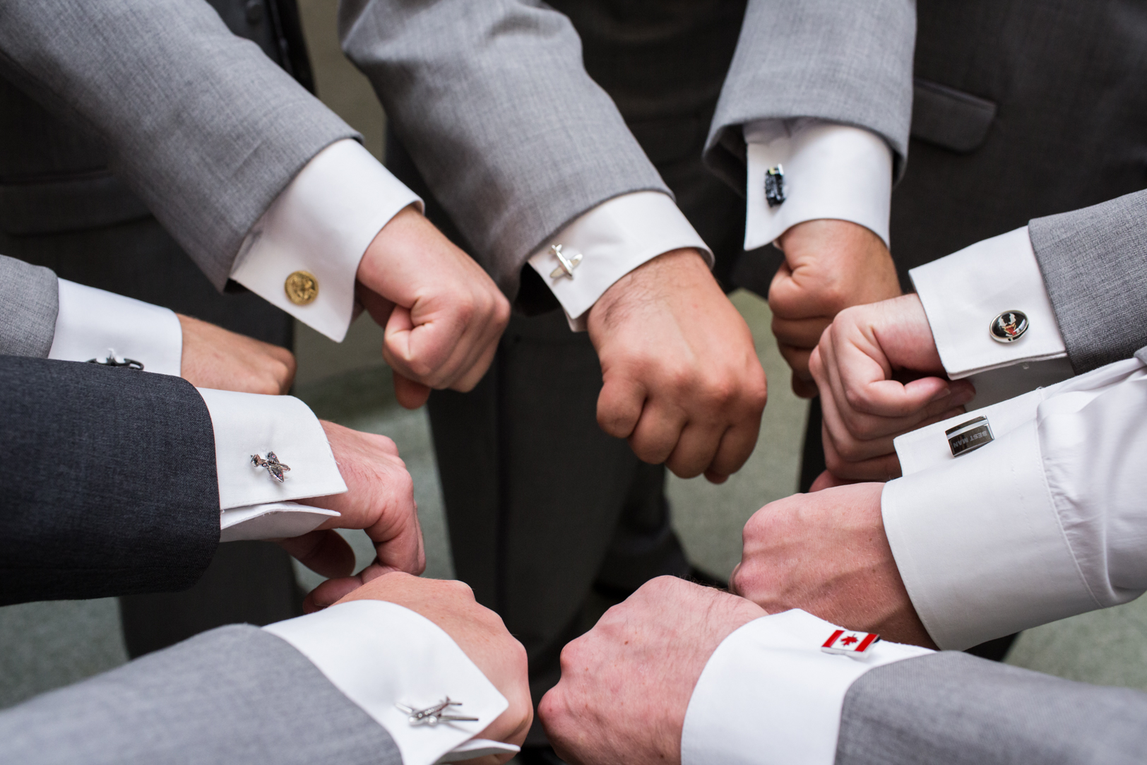 Custom Cufflinks for Groomsmen