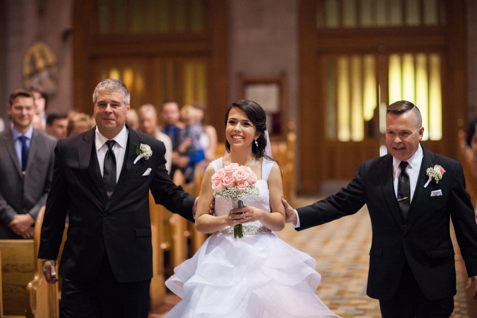 Elegant Edmonton Basilica Wedding - St Josephs Basilica Wedding.