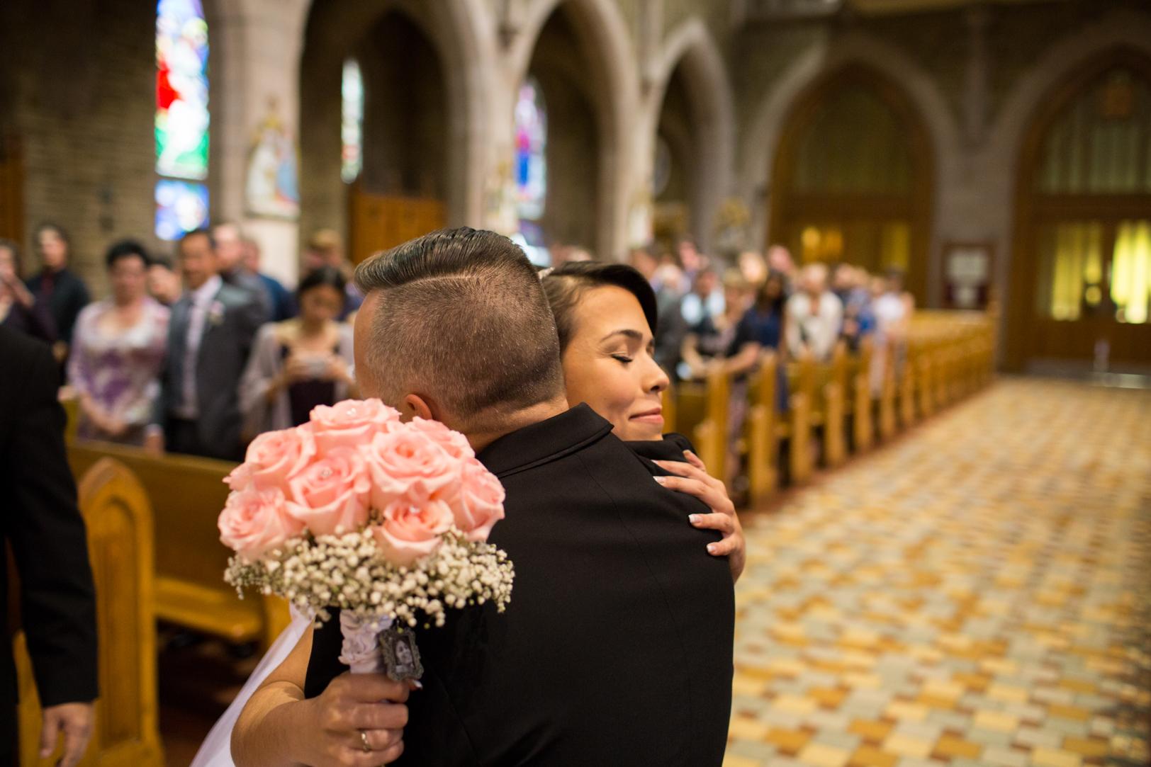 Elegant Edmonton Basilica Wedding.