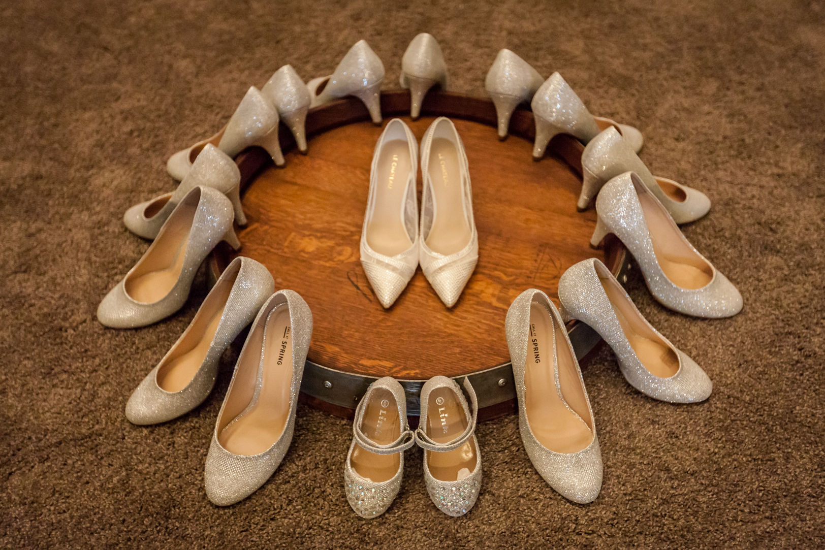 Detail Photo of Wedding Shoes