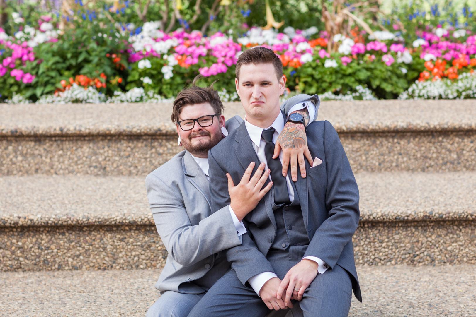 Edmonton Outdoor Wedding Photos