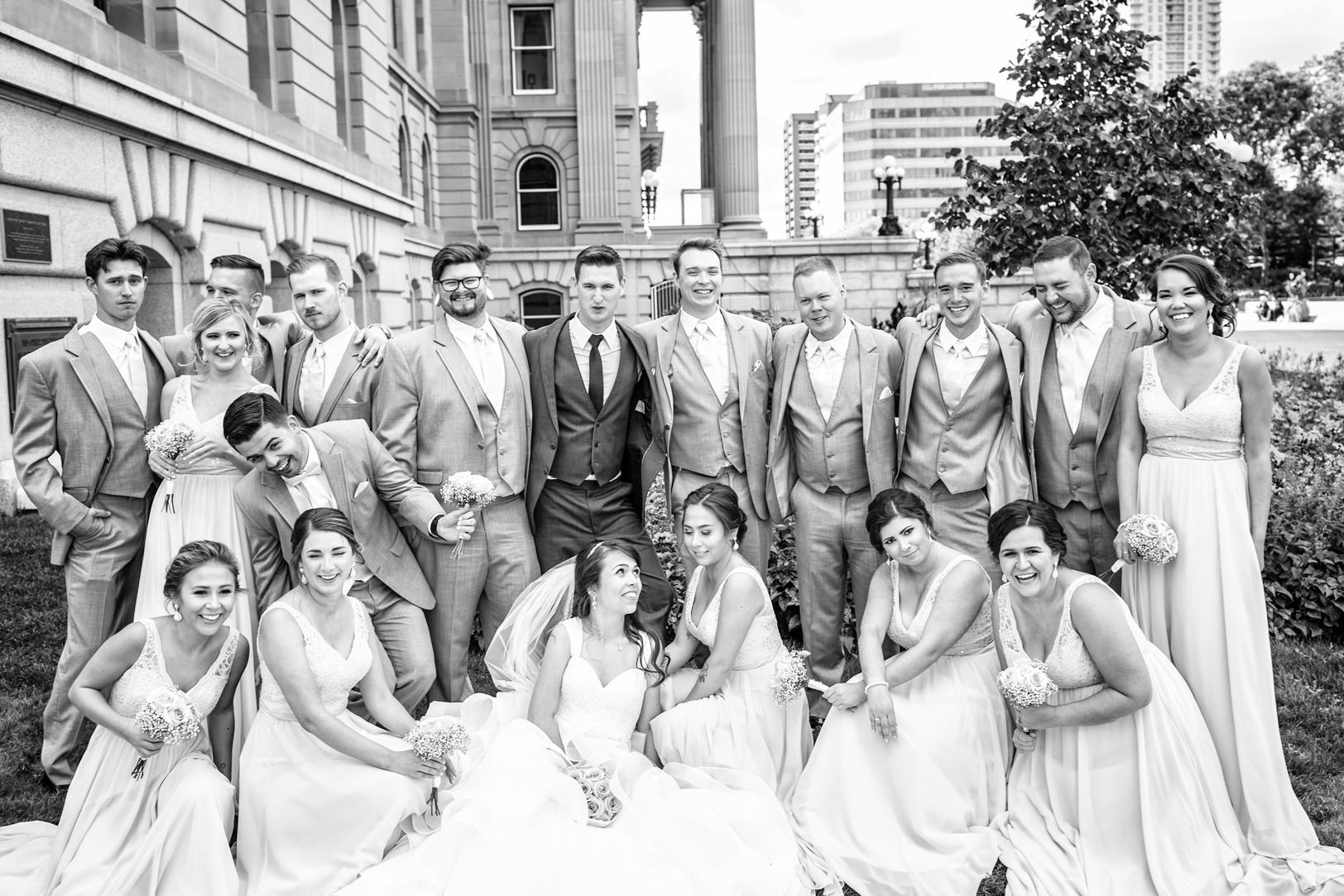 Outdoor Wedding Photos Edmonton