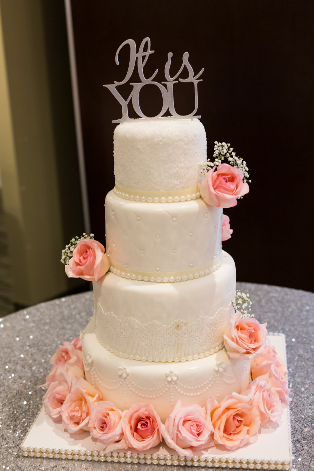 Its You Wedding Cake Topper