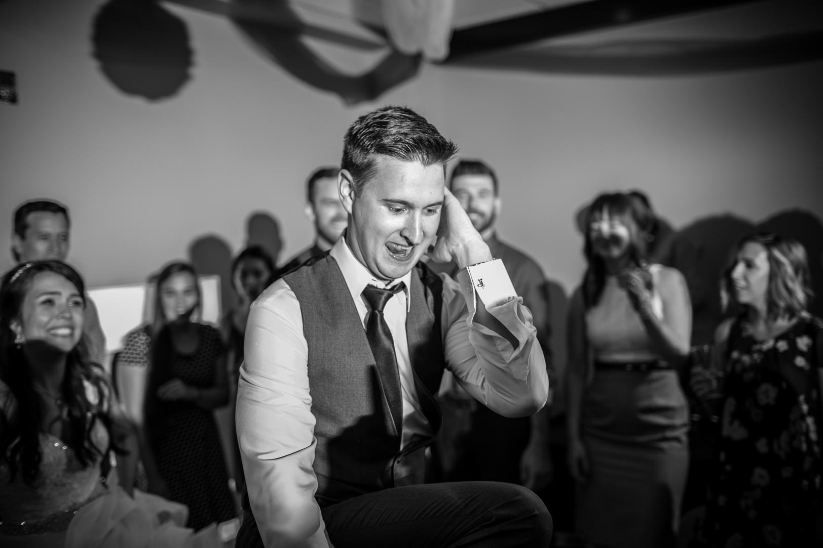 Photo of Groom Dancing