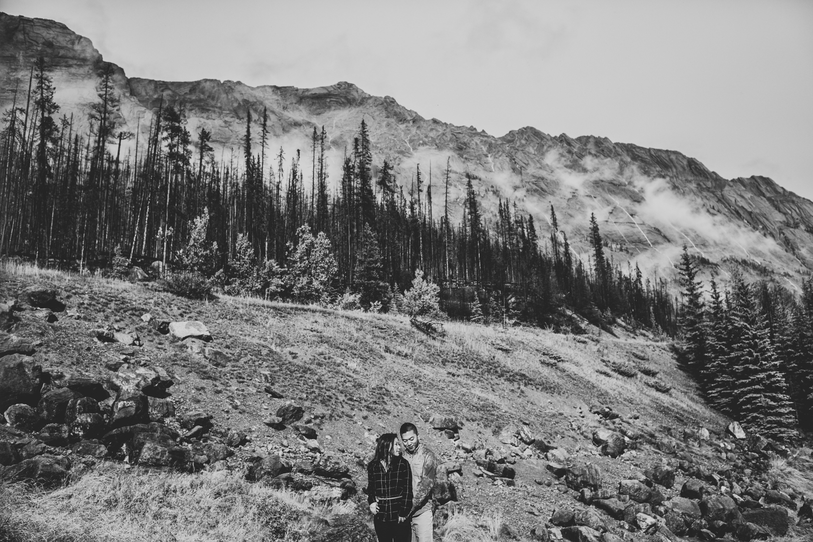 Engagement Photos in the Mountains