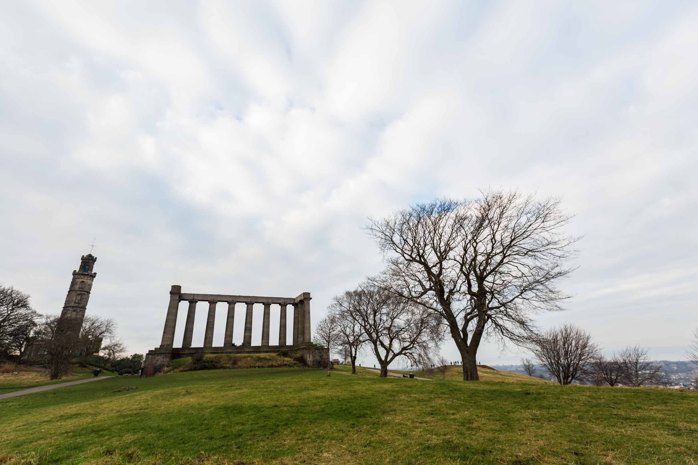 calton hill edinburgh exploring